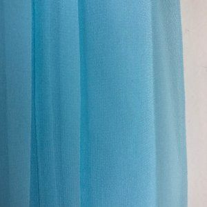 Donna Morgan Dresses - NWT DONNA MORGAN BLUE SILK & CHIFFON GOWN Sz 18W